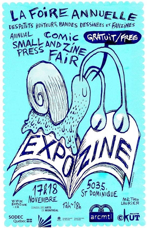 Expozine 2012 poster